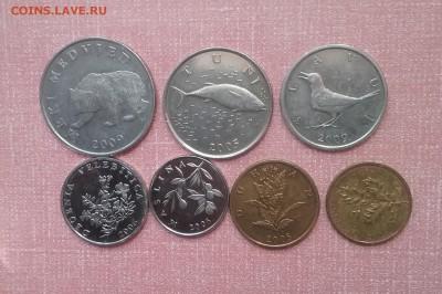 Набор монет Хорватии      до 25.03.18      22.00 - 20180320_141925