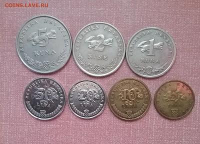 Набор монет Хорватии      до 25.03.18      22.00 - 20180320_141950