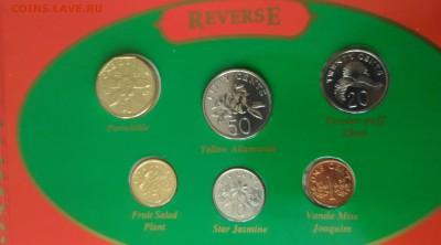 Сингапур набор монет 1995 - сингапур сет 1995 реверс