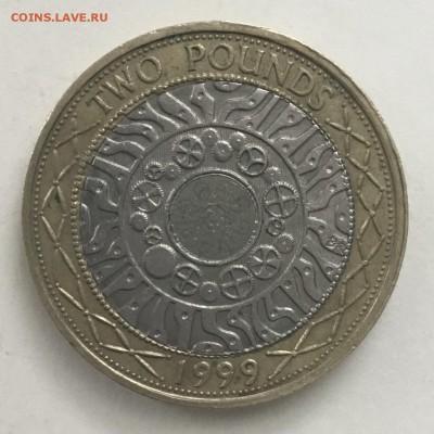 2 фунта Великобритании 1999 года - F20D03E6-E621-400B-B928-7B5B1A035D46
