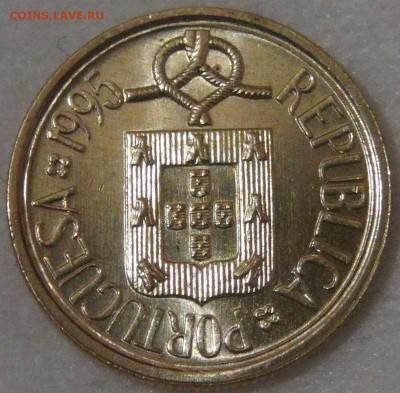 Португалия 1 эскудо 1995 UNC до 11.04.18 (ср. 22-30) - DSC02398.JPG