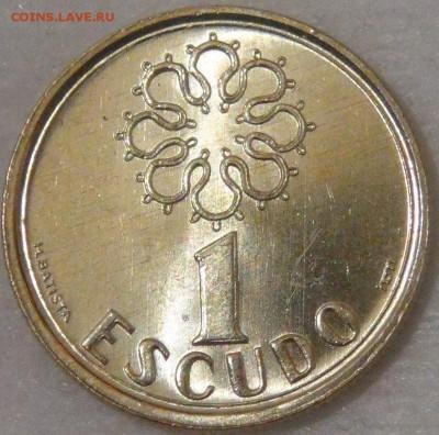 Португалия 1 эскудо 1995 UNC до 11.04.18 (ср. 22-30) - DSC02391.JPG
