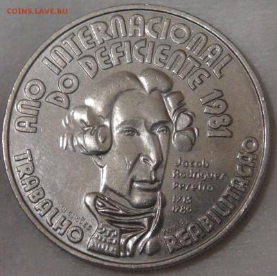 Португалия 100 эскудо 1982 год инвалидов 11.04.18 (ср. 22-30 - DSC02350.JPG