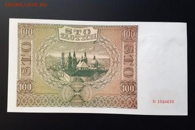 ФИКС - Польша 100 злотых 1941г. aUNC+ - 20180412_124044