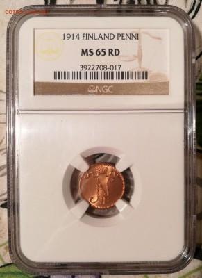 пенни 1914 ngc ms65 rd - 1