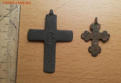 крест нательный 17-18в ( 8 ) 2 шт до 21.04 - крест 8 2