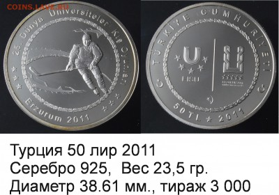 Хоккей на монетах - Турция_2011