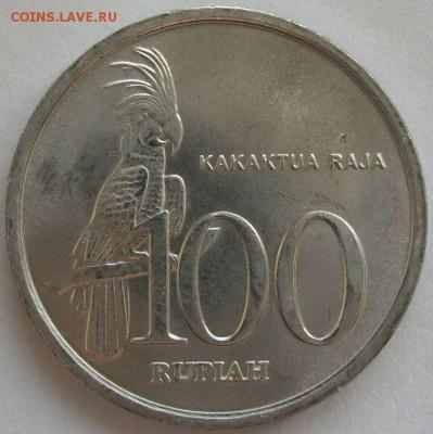 100 рупий Индонезия 1999 UNC . С 1 рубля. - 100 рупий Индонезия 1999 UNC - 1