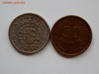 Португальская Ангола - 2 монеты. 29.04.18. - DSCN0647 (1280x960)