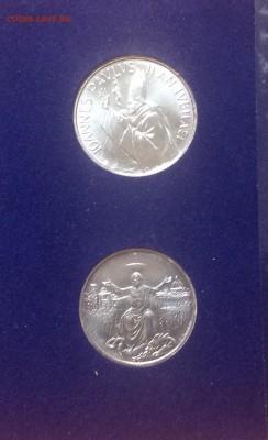 Ватикан, 1983 - 84г. 2 монеты, набор Ag 835, до 29.04.18г - FullSizeRender (18)