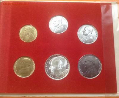 Ватикан набор 1980г. 500 лир серебро, до 29.04.18г - FullSizeRender (21)