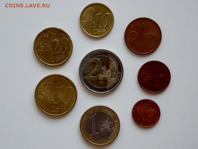 Набор монет евро Испании. 1 цент - 2 евро до 29.04.2018 - DSCN9547 (1280x960)