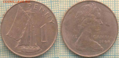 Гамбия 1 пенни 1966 г., до 29.04.2018 г. 22.00 по Москве - Гамбия 1 пенни 1966  638