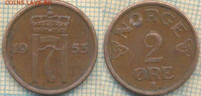 Норвегия 2 эре 1953 г., до 29.04.2018 г. 22.00 по Москве - Норвегия 2 эре 1953  506