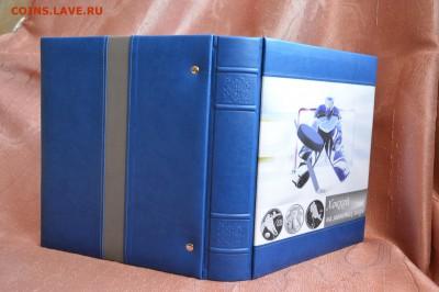 Альбом ручной работы по теме Хоккей, Optima - папка_хоккей_2