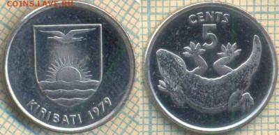 Кирибати 5 центов 1979 г., до 05.05.0018 г. 22.00 по Москве - Кирибати 5 центов 1979  710