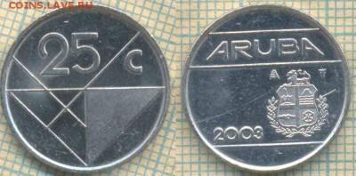 Аруба 25 с 2003 г, до  05.05.0018 г. 22.00 по Москве - Аруба 25 центов 2003  711