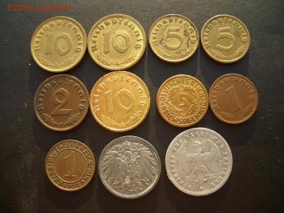 Германия, Веймар, 3-й Рэйх (бронза, никель, медь)-07.05.18 - Pfennigs (38).JPG