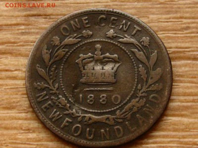 Ньюфаундленд 1 цент 1880 до 07.05.18 в 22.00 М - IMG_4325.JPG