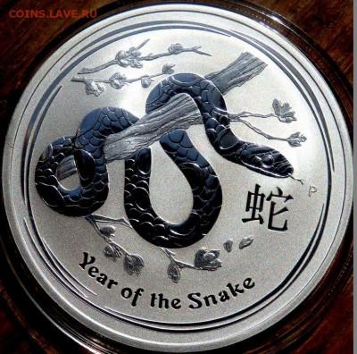 1 Австралийский доллар 2013 года  Змея до 07.05.2018 22-00 - P4250158.JPG