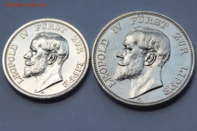 Коллекционные монеты форумчан , Кайзеррейх 1871-1918 (2,3,5) - 5B6dvl8EM8U