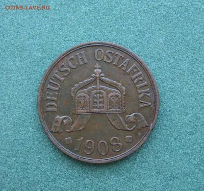 5 хеллеров 1908 г. - Германская Восточная Африка - IMG_0002.JPG