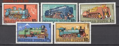 Венгрия 1972 паровозы 5м - 5