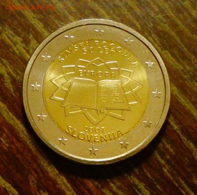 СЛОВЕНИЯ - 2 евро РИМСКИЙ ДОГОВОР до 22.05, 22.00 - Словения 2 евро Римский договор-1