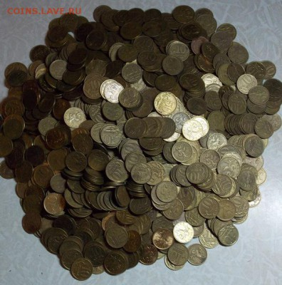 1000 монет 50к,10к 1997-2006 гурт рубчатый до 21.05 - 95