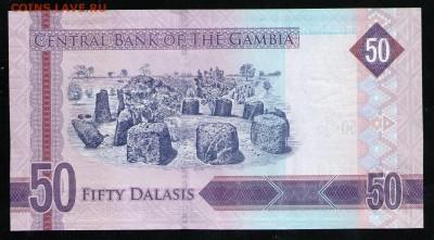 ГАМБИЯ 50 ДАЛАСИ 2015 UNC - 2 001