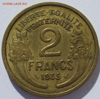 2 франка Франция 1935. - 2 франка Франция 1935 - 1