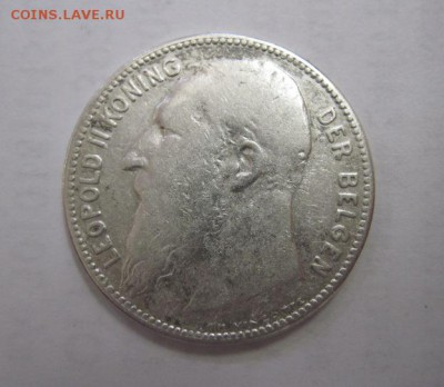 1 франк Бельгия 1909   до 11.06.18 - IMG_8928.JPG