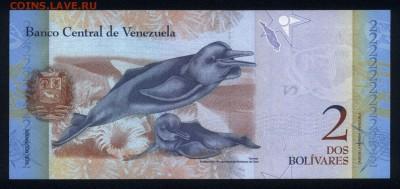 Венесуэла 2 боливара 2013 unc  15.06.18. 22:00 мск - 1