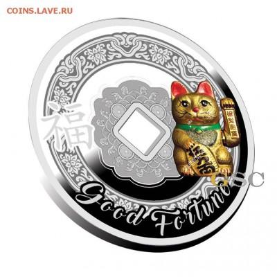 Кошки на монетах - Камерун-1