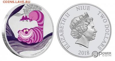Кошки на монетах - Алиса в Стране Чудес-7
