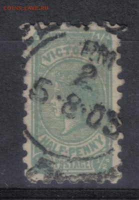 2р до 5.07 22.00мск - Австралия Виктория 1901г 1-2р
