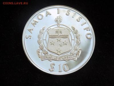 Самоа и Сисифо. 10 долларов 1988 год. Плот Кон-Тики - Либерия конТики (2).JPG
