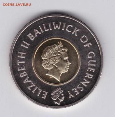 Крона Шайби Гернси 5 фунтов 1999 Миллениум Биметалл - krona_shajbi_gernsi_5_funtov_1999_millenium_bimetall (1)