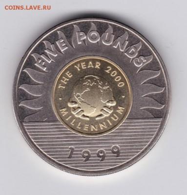 Крона Шайби Гернси 5 фунтов 1999 Миллениум Биметалл - krona_shajbi_gernsi_5_funtov_1999_millenium_bimetall