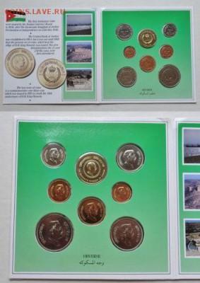 банковский годовой набор монет Иордания 1985 в буклете UNC - bankovskij_godovoj_nabor_monet_iordanija_1985_v_buklete_unc