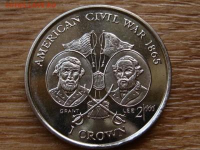 Мэн 1 крона 1999 Гражданская война США до 07.07.18 в 22.00 М - IMG_6476.JPG