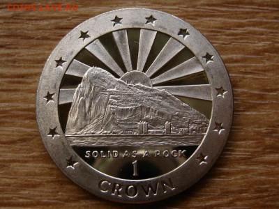 Гибралтар 1 крона 1995 твердый как камень до 07.07.18в22.00М - IMG_6429.JPG