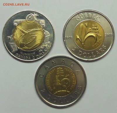 2 доллара Канада (Нунавут, Квебек, Леса) UNC - 8-1.JPG