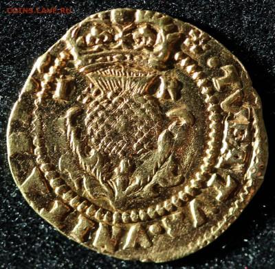 Золотая крона 1613 г. - Крона Р.JPG