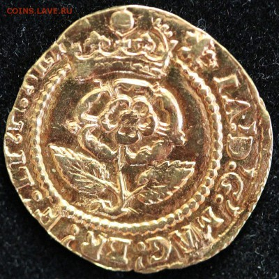 Золотая крона 1613 г. - Крона А.JPG