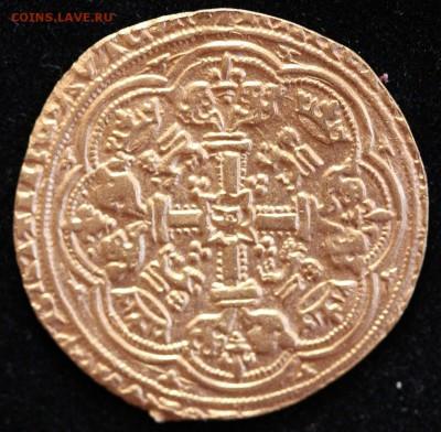 Золотой нобль 1356-1361 гг. - Нобль Р.JPG