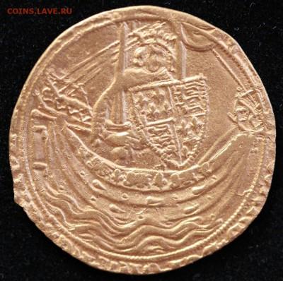 Золотой нобль 1356-1361 гг. - Нобль А.JPG