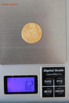Золотой нобль 1356-1361 гг. - вес.JPG