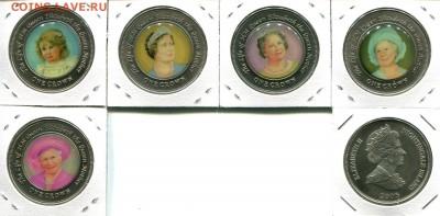 Найтингейл набор 1Кр 5шт. 2005 цветные QM до 16.07.18 22-00 - Nightingale-1Cr-2005-QM