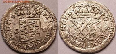 Дания - 2 skilling 1715
